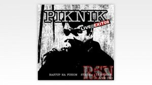 Cover for DVD footage of Piknik band