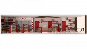 Project: Lukoil petrol station - scene 1