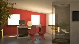 Project: Office interior - Pazova - scene 1
